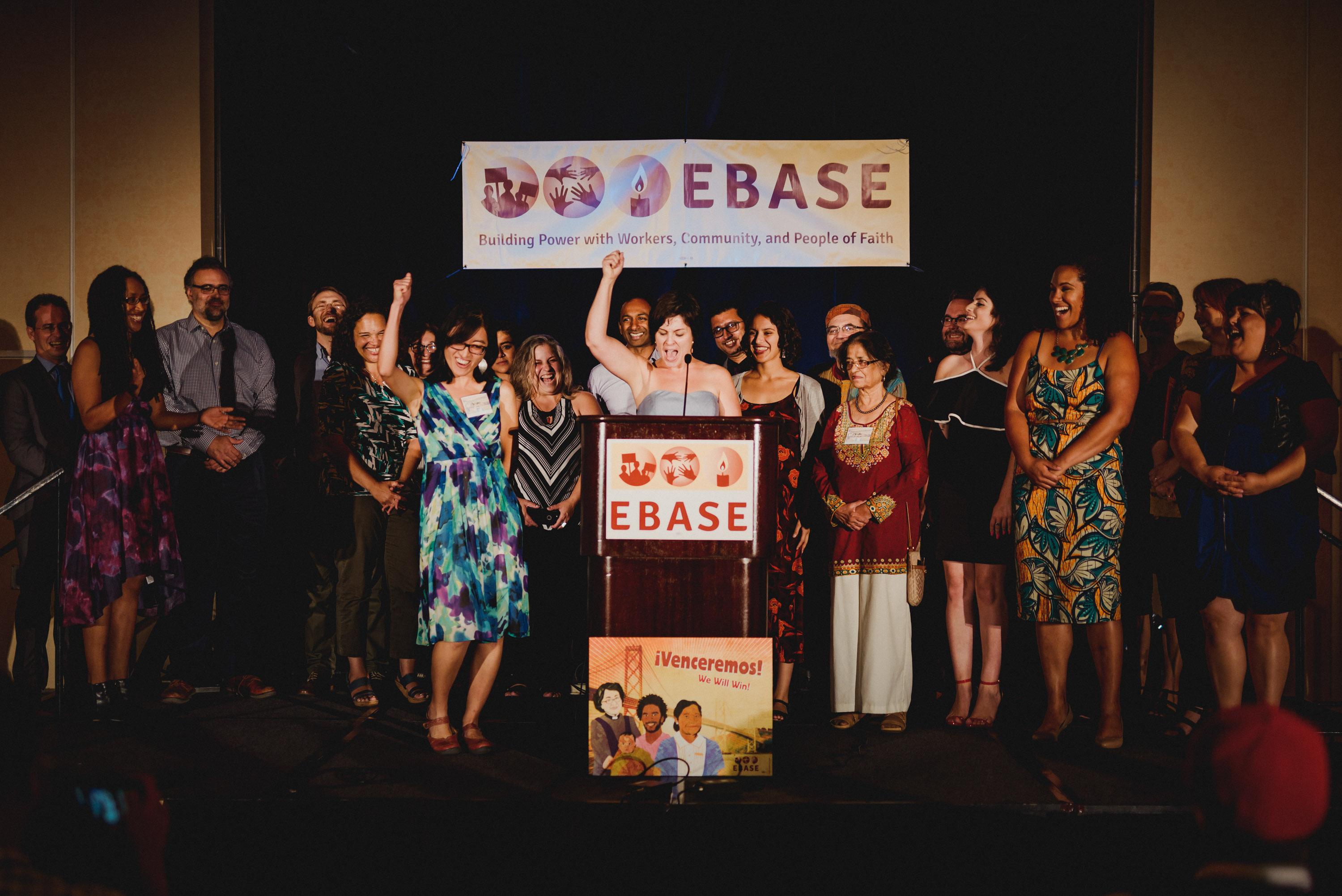EBASE Staff at our 2017 annual event