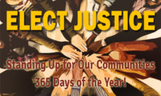 Elect Justice website graphic